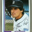 1982 Topps Baseball #423 Stan Papi Tigers Pack Fresh