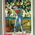 1982 Topps Baseball #420 George Hendrick Cardinals Pack Fresh