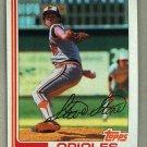 1982 Topps Baseball #419 Steve Stone Orioles Pack Fresh