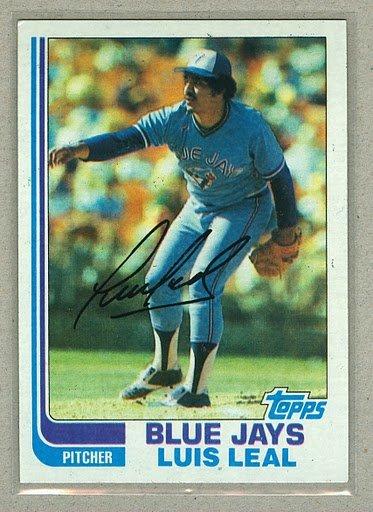 1982 Topps Baseball #412 Luis Leal Blue Jays Pack Fresh