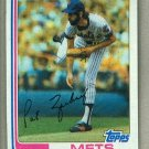 1982 Topps Baseball #399 Pat Zachary Mets Pack Fresh