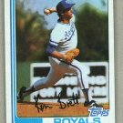 1982 Topps Baseball #397 Ken Brett Royals Pack Fresh