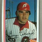 1982 Topps Baseball #389 George Vukovich Phillies Pack Fresh