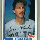 1982 Topps Baseball #388 Joe Rudi Red Sox Pack Fresh
