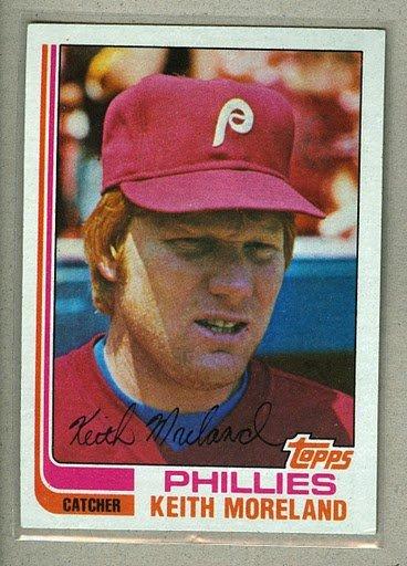 1982 Topps Baseball #384 Keith Moreland Phillies Pack Fresh