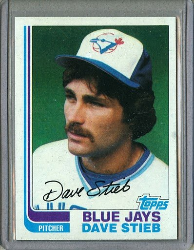 1982 Topps Baseball #380 Dave Steib Blue Jays Pack Fresh