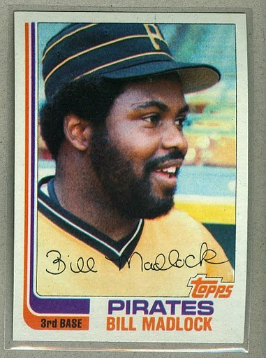 1982 Topps Baseball #365 Bill Madlock Pirates Pack Fresh