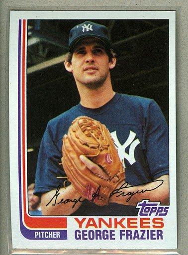 1982 Topps Baseball #349 George Frazier Yankees Pack Fresh