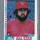 1982 Topps Baseball #347 Bruce Sutter Cardinals Pack Fresh