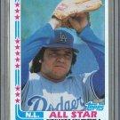 1982 Topps Baseball #345 Fernando Valenzuela Dodgers Pack Fresh