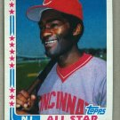 1982 Topps Baseball #342B George Foster Reds Error No Autograph Pack Fresh