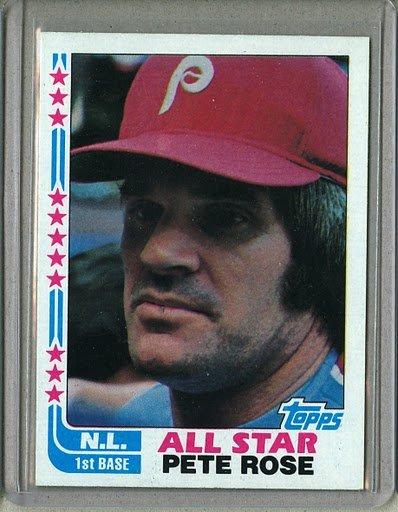 1982 Topps Baseball #337 Pete Rose Phillies Pack Fresh