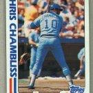 1982 Topps Baseball #321 Chris Chambliss Royals Pack Fresh