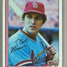 1982 Topps Baseball #316 Steve Braun Cardinals Pack Fresh