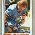 1982 Topps Baseball #308 Charlie Moore Brewers Pack Fresh