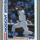 1982 Topps Baseball #301 Reggie Jackson Yankees Pack Fresh