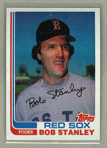 1982 Topps Baseball #289 Bob Stanley Red Sox Pack Fresh