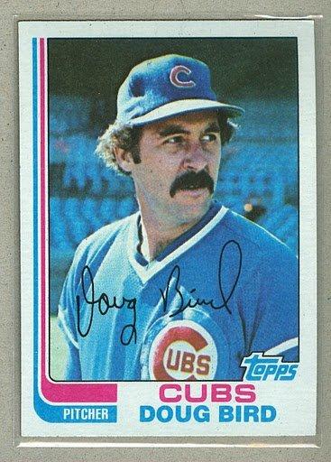 1982 Topps Baseball #273 Doug Bird Cubs Pack Fresh