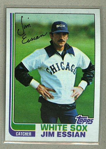 1982 Topps Baseball #269 Jim Essian White Sox Pack Fresh
