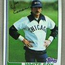 1982 Topps Baseball #269 Jim Essian White Sox Pack Fresh