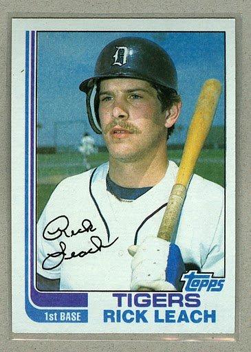 1982 Topps Baseball #266 Rick Leach Tigers Pack Fresh
