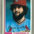 1982 Topps Baseball #260 Bruce Sutter Cardinals Pack Fresh