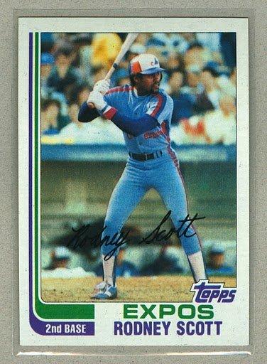 1982 Topps Baseball #259 Rodney Scott Expos Pack Fresh