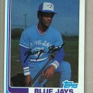 1982 Topps Baseball #254 Jorge Bell Blue Jays Pack Fresh