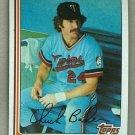 1982 Topps Baseball #253 Chuck Baker Twins Pack Fresh