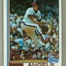 1982 Topps Baseball #229 Geoff Zahn Angels Pack Fresh