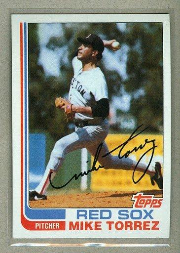 1982 Topps Baseball #225 Mike Torrez Red Sox Pack Fresh