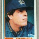 1982 Topps Baseball #224 Bruce Bochte Mariners Pack Fresh