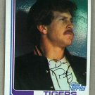 1982 Topps Baseball #211 Dan Petry Tigers Pack Fresh