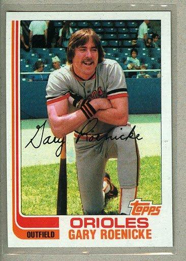 1982 Topps Baseball #204 Gary Roenicke Orioles Pack Fresh