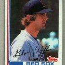 1982 Topps Baseball #189 Glenn Hoffman Red Sox Pack Fresh