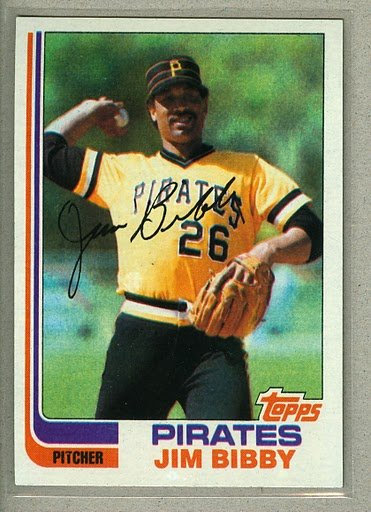 1982 Topps Baseball #170 Jim Bibby Pirates Pack Fresh