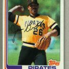 1982 Topps Baseball #170 Jim Bibby Pirates Pack Fresh