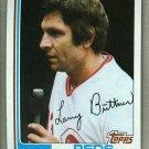 1982 Topps Baseball #159 Larry Biittner Reds Pack Fresh