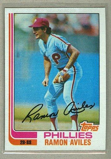 1982 Topps Baseball #152 Ramon Aviles Phillies Pack Fresh