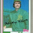 1982 Topps Baseball #148 Mickey Klutts Pack Fresh