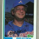 1982 Topps Baseball #145 Bob Horner Braves Pack Fresh
