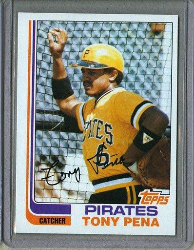 1982 Topps Baseball #138 Tony Pena Pirates Pack Fresh