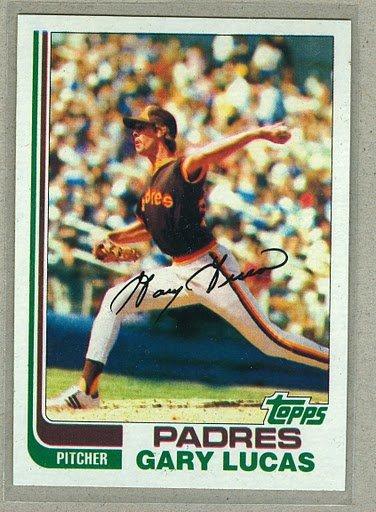 1982 Topps Baseball #120 Gary Lucas Padres Pack Fresh
