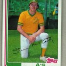 1982 Topps Baseball #113 Steve McCatty A's Pack Fresh