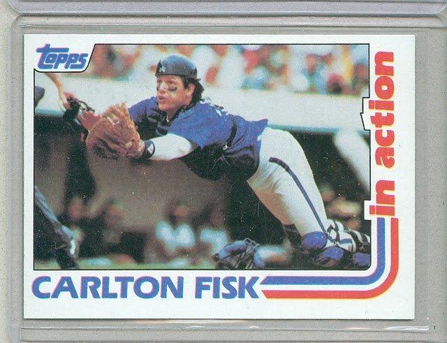 1982 Topps Baseball #111 Carlton Fisk White Sox Pack Fresh