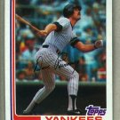 1982 Topps Baseball #109 Dave Revering Yankees Pack Fresh