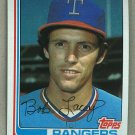 1982 Topps Baseball #103 Bob Lacey Rangers Pack Fresh