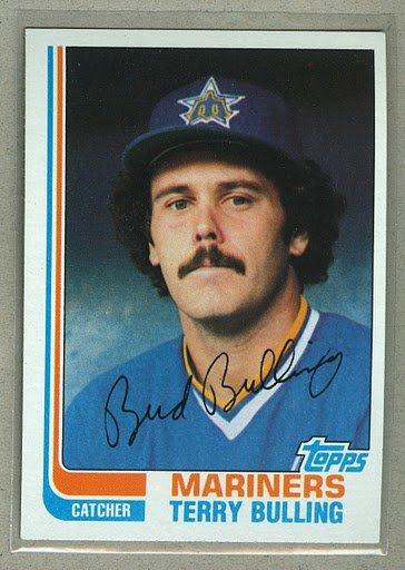 1982 Topps Baseball #98 Terry Bulling Mariners Pack Fresh