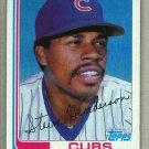 1982 Topps Baseball #89 Steve Henderson Cubs Pack Fresh