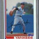 1982 Topps Baseball #75 Tommy John Yankees Pack Fresh